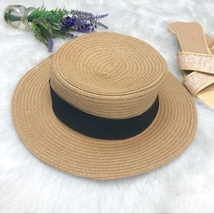 COOPERATIVE / Urban Outfitters Straw Boater Hat